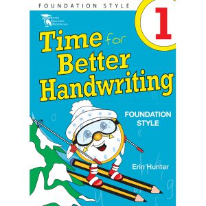 Time for better handwriting! Foundation style - Erin Hunter - Year 1