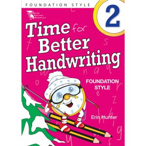Time for better handwriting! Foundation style - Erin Hunter - Year 2