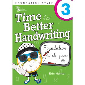 Time for better handwriting! Foundation with speed loops - Erin Hunter - Year 3
