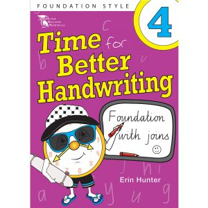 Time for better handwriting! Foundation with speed loops - Erin Hunter - Year 4