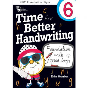 Time for better handwriting! Foundation with speed loops - Erin Hunter - Year 6