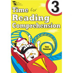 Time for reading comprehension - Tess Finneran - Year 3