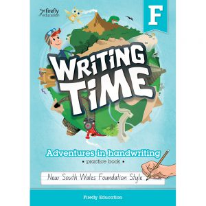 Writing time! Adventures in handwriting practice book - Foundation